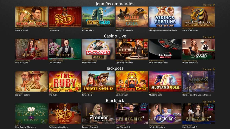 Casino extra avis : machines à sous gratuites